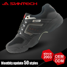 2016 popular black golf shoes men
