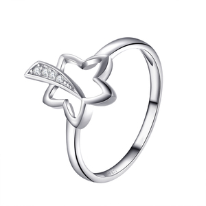 Women 925 Jewelry Pure Silver Finger Rings