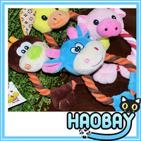 4colors plush pet product lovable animal dog toys made in China