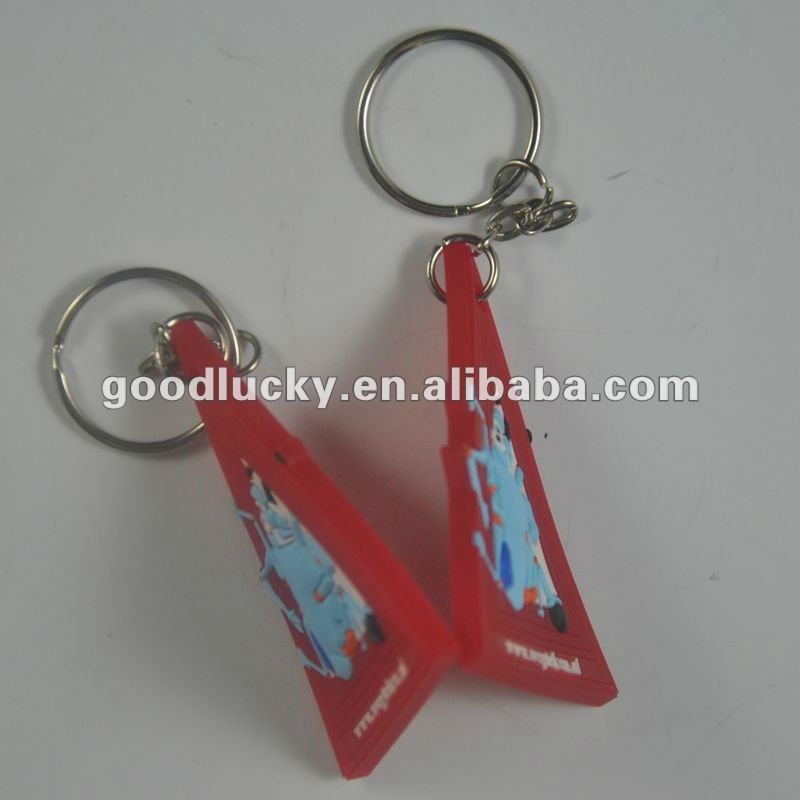 Promotional gifts Manufacture Custom 2D/3D Soft PVC Key Chain