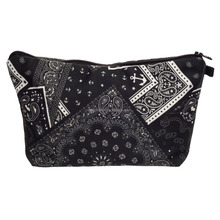 NEW Kylie jenner holiday edition makeup bag with bandana black