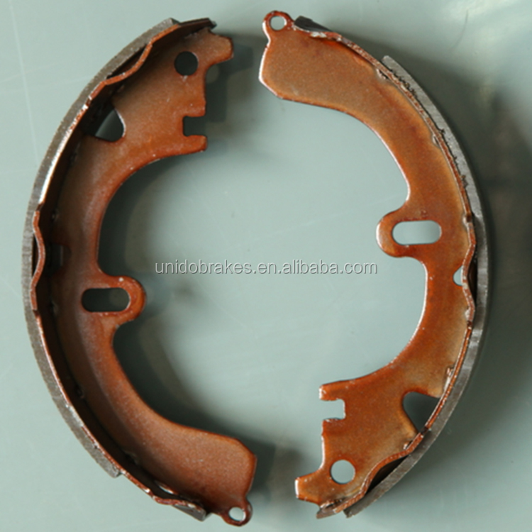 Factory supply best selling auto drum brake shoe S551 K2288 GS8224 for Japanese Corolla car