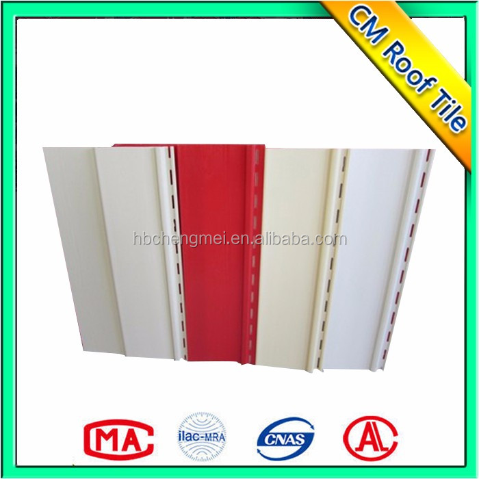 Easy Installation Exterior Wall ASA Plastic Wall Panel