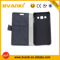 wove cloth style PU Wallet Leather Flip Case for Samsung Galaxy A3 Case alibaba express mobile phones display wallets for mobile
