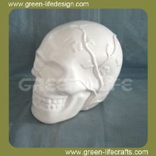 Ceramic Money box /Skull Heads shape ceramic money bank for gifts
