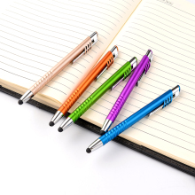 rubber tip multicolor stylus touch pen for any touch screen product