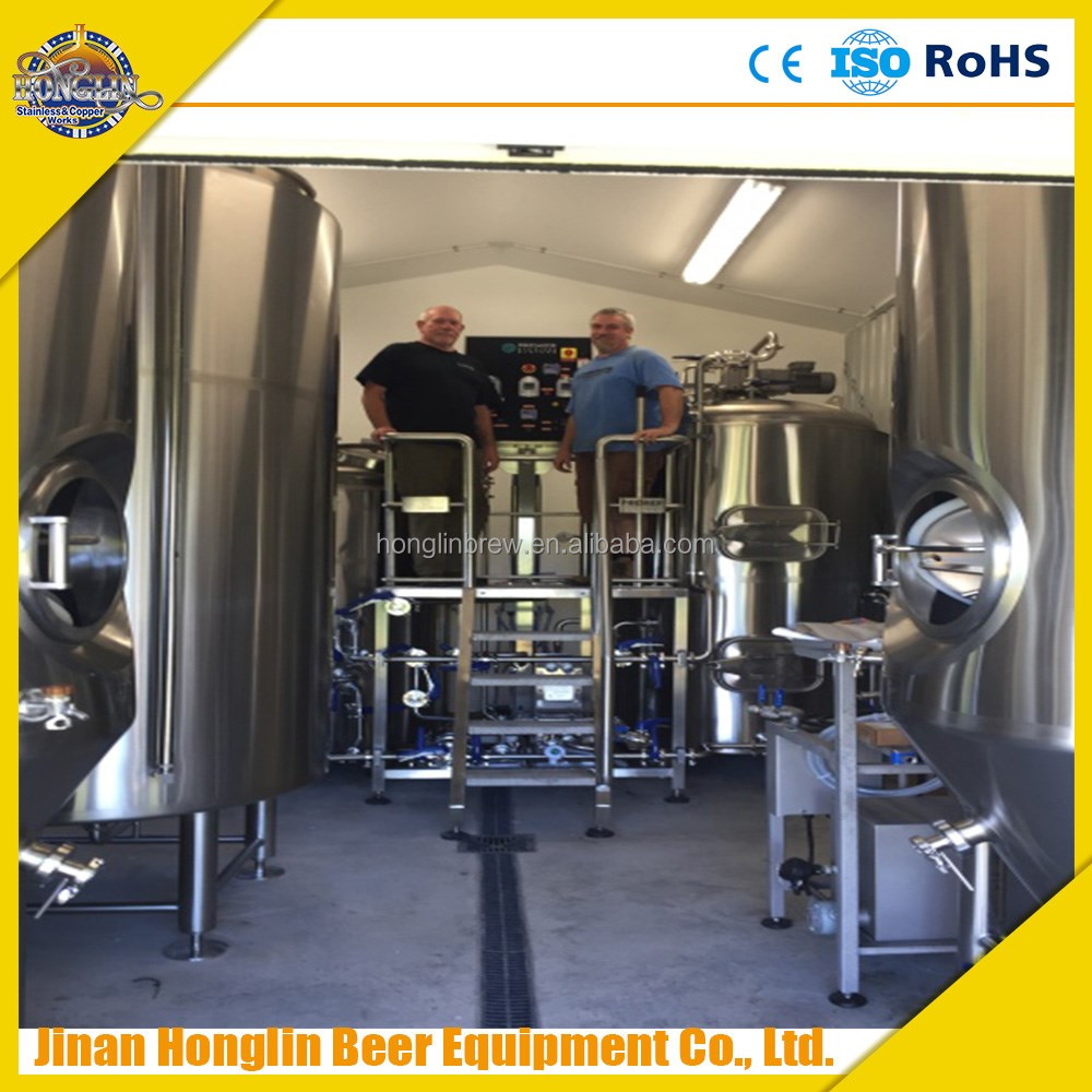 CE certificated 200L microbrewery equipment for sale