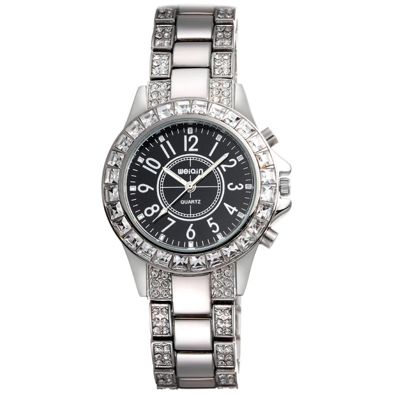 Best Design WEIQIN W4334 Diamond Quartz Watches