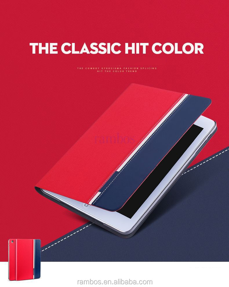 Mix Color Tablet Flip Cover Wallet Leather Case for Xiaomi Mipad