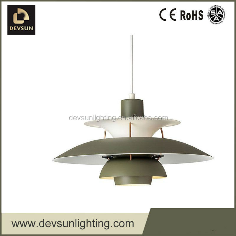 Modern Glass Pendant Light Decorative Hanging Silver color lighting DP1041