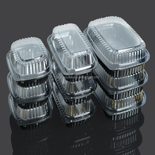 wholesale disposable takeaway fast food packaging / plastic food container / plastic box with lid