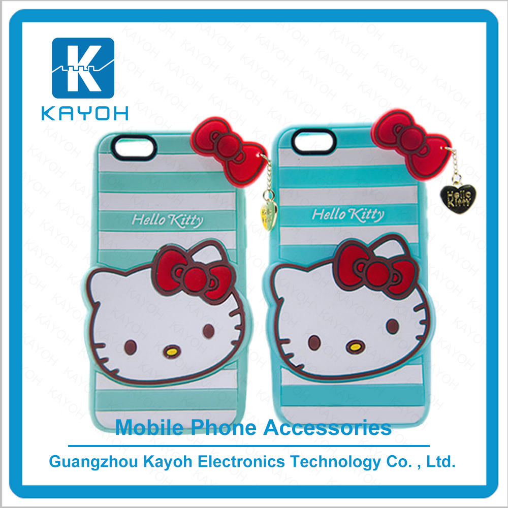 [kayoh]New hello kitty phone hard plastic cell phone cases for samsung s6 design a phone case