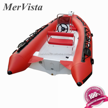 Alibaba China PVC Inflatable Rib Boat 3.8m Low Prices Yachts For Sale