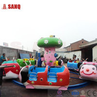 China Supplier Funny Amusement Park Ladybug Paradise Rides Equipment/Kiddie Ride Beetles Paradise Kiddie Ride Ladybug Paradise