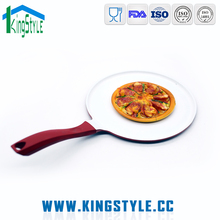 Aluminum non stick cookware, ceramic coated pizza fry pan