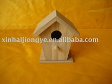Cheap Wooden Triple Bird Houses Wood Bird Cage