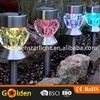 New Design Colorful Solar Garden Bollard