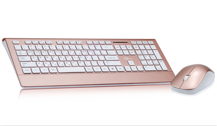 Full Size type silent Wireless Keyboard & mouse Combo