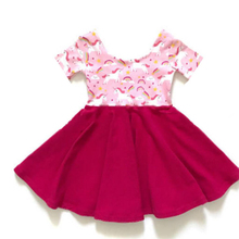 Baby girls new ruffles frocks spring fashion Valentine Dress For Girls