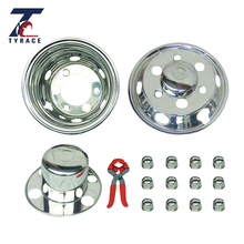 Top sale 17.5 inch Stainless steel wheel cover for heavy truck and bus