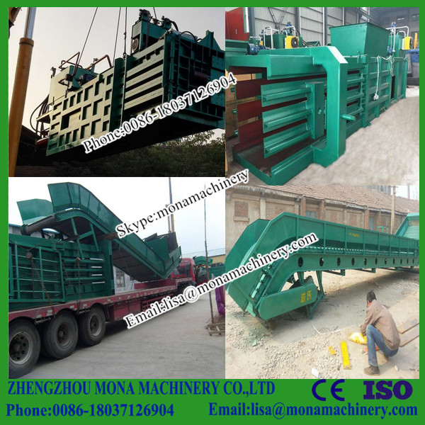 Garbage packer / waste paper baler scrap balers / small hydraulic packing machine