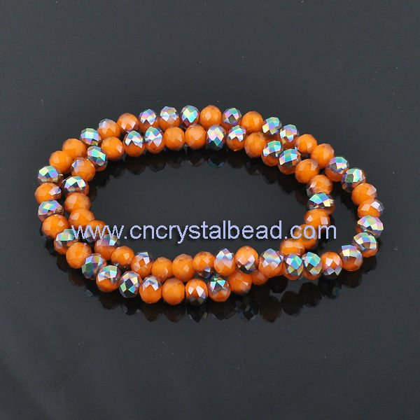 New Design Roundel abacus shaped Crystal Bead wholesale