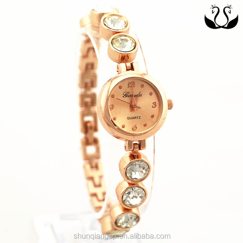 personality fashion zinc alloy gold plated good price watch women
