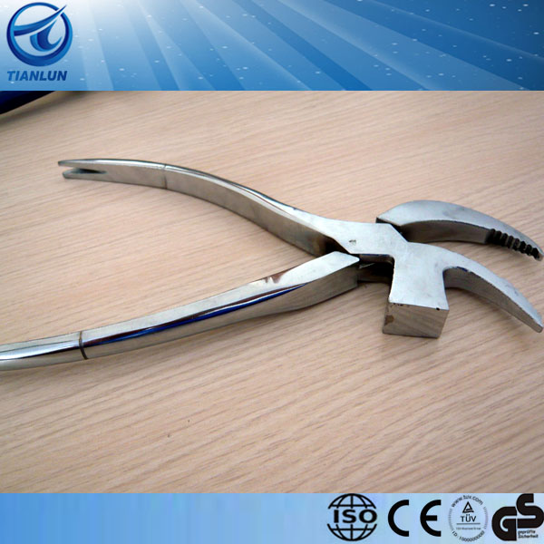 drop forged fine polished CE certificated shoe tools Shoe Pliers