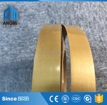 High Quality MDF board pvc edge banding metal edge for furniture
