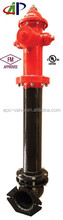 UL FM DRY BARREL FIRE HYDRANT WITH MECHANICAL JOINT FOR SALE
