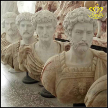 Resin Marble Roman Antique Bronze bust statue for sale