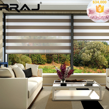RRAJ Elegant Horizontal Sheer Blinds for Home Window Decoration