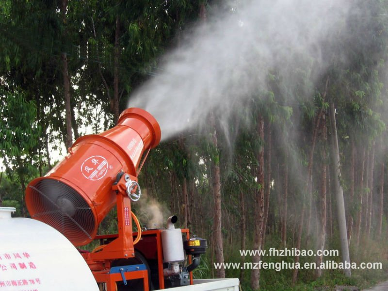 Agricultural fogger hydraulic boom sprayers for pesticide