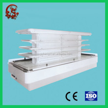 portable refrigerated display cooler/supermarket display cooler