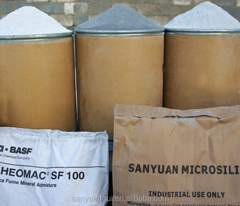 Microsilica in Oil Well Grouting
