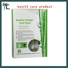 Bamboo Vinegar healthcare foot patch to Loss weight