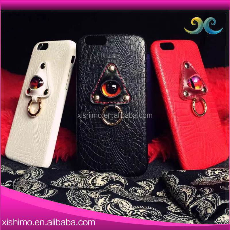 High-end handmade custom design mobile phone leather case For apple For iphone6 6+