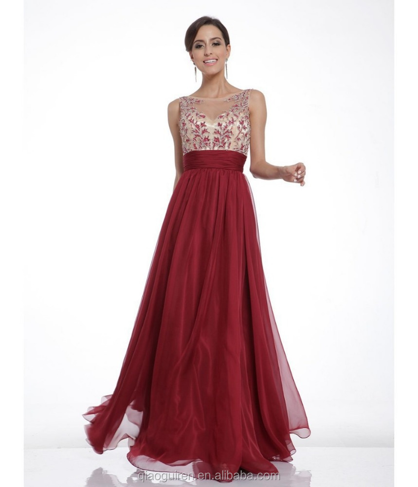 Fashion sexy gown sweet elegant dance evening dress