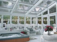 Modern Glass Houses Decorative Glass Sunroom