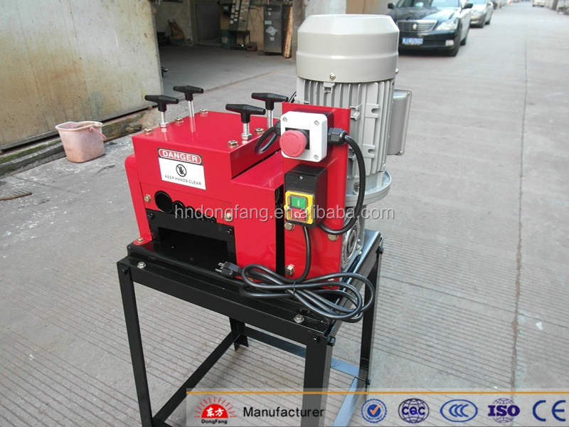 DF-007 hot new products aluminum electrical wire cutting machine cable peeling machine for sale in cable making equipment