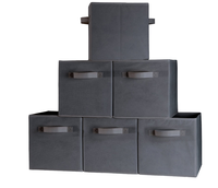 Custom Made High Quality Foldable Non Woven fabric Storage Box small cardboard box