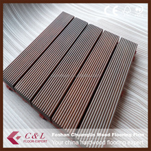 China waterproof cheapest outdoor merbau wood decking