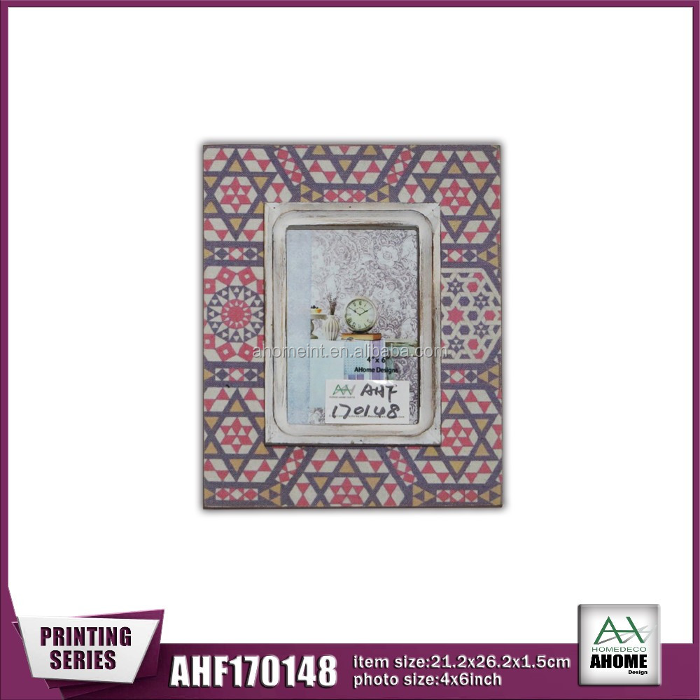 Latest Decorative Frame Handmade Photo Frame 4x6 Inch With Printing