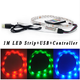1M 60leds Waterproof LED Strip Light + USB Cable + 24 keys IR RGB Remote Controller SMD 3528 IP65 Lighting Tape USB LED Strip