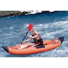 2016 China wholesale pvc inflatable whitewater kayak