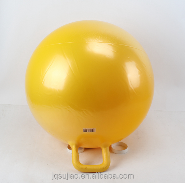 45cm Inflatable Plastic PVC Toy Hopper Ball with round handle