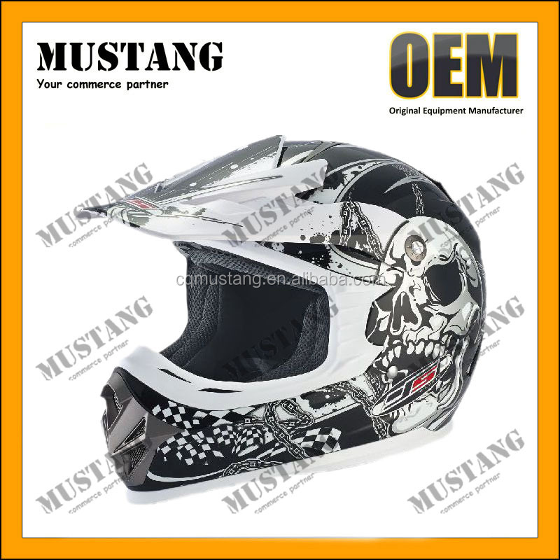 China Producer of DOT Approved ABS Shell Safety ATV Cross Helmet