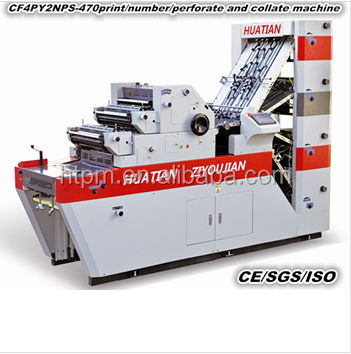 NCR paper printing machine/commercial invoice/recipt printing machine CF4PYNPS-470