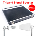 Hot sale GSM signal repeater wireless 4G signal amplifier phone signal booster LTE 4g 2600MHz 2g 3g 4g cell phone signal booster