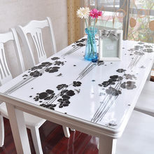 pvc material and waterproof wholesale transparent pvc tablecloth